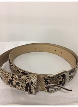 Riem Serpent lederen-look